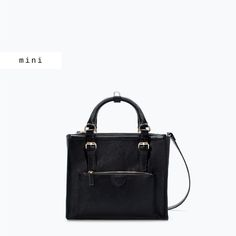 COMBINED OFFICE CITYBAG from Zara Handbags Pinterest Zara