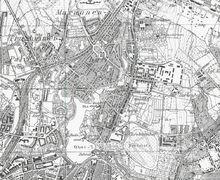 Maraunenhof Stadtteil von Koenigsberg Karte 1937