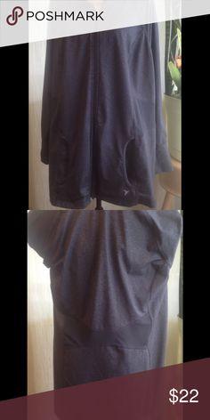 Women's jacket.  Active by Old Navy. Dark gray, active wear jacket.  44% nylon, 44% polyester & 12% spandex. Old Navy Jackets & Coats