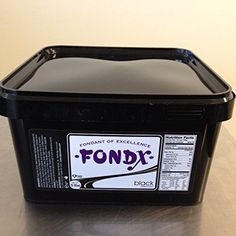 FondX Rolled Fondant Icing Black 5 Pounds ** Continue to the product at the image link.(This is an Amazon affiliate link and I receive a commission for the sales)