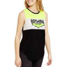 Free 2-day shipping on qualified orders over $35. Buy Juniors' Bat Wing Color Block Tank at Walmart.com