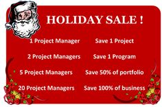 Project Managers for Sale!