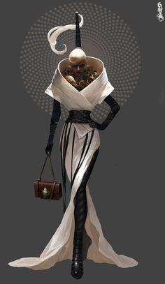 Character Design - ArtStation is the leading showcase platform for games, film, media & entertainment artists. Character Concept, Character Art, Concept Art, Art And Illustration, Foto Art, Fantasy Characters, Costume Design, Art Inspo, Wearable Art