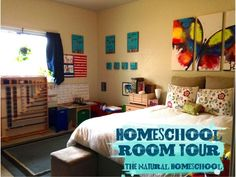 The Natural Homeschool: Homeschool Room Tour 2014