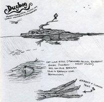 Dugbog Sketch by *thefuzzyslug on deviantART