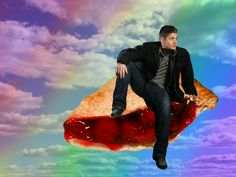 Pie in the sky. And Dean. #Supernatural #Funny