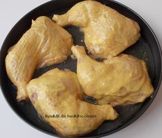 Pulpe de pui cu sos de mustar - Bunătăți din bucătăria Gicuței Meat, Chicken, Food, Meals, Yemek, Buffalo Chicken, Eten, Rooster