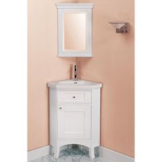 Corner Bathroom Vanity | small bath vanities, vanity tops