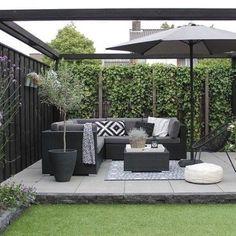 Backyard Patio Designs, Small Backyard Landscaping, Small Patio, Backyard Ideas, Backyard Pools, Patio Ideas, Diy Patio, Small Garden Patios, New Build Garden Ideas