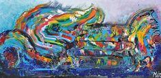 Express yourself, schilderij van Kunstenares Mir, Mirthe Kolkman van der Klip | Abstract | Modern | Kunst Abstract, Painting, Art, Modern Art, Painting Art, Paintings, Kunst, Paint, Draw