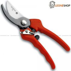 "Professional Pruning Shears STAFOR Italy, Vineyard scissors and Pruning shears carbon steel of high quality, super sharp replaceable blade and anvil blade with anticorrosion surface treatment, polypropylene handles with rubber bumper, central screw fixed with blocking plate, adjustment screw and metal safety lock - Overall lenght 8.27"" ​​- STAFOR Italy Professional  Gardening and Pruning shears, a truly exceptional product with quality materials and good italian design..."