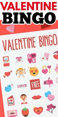 If you're searching for a fun Valentine's Day game to play with your family, look no further than this adorable printable Valentine bingo game! Rainy Day Crafts, Valentine's Day Crafts For Kids, Valentine Crafts For Kids, Craft Projects For Kids, Holiday Crafts, Project Ideas, Holiday Ideas, Diy Projects, Valentine Bingo