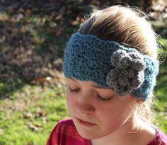 Women's Crochet Ear Warmer Earwarmer Headband by LittleMonkeyShop, $18.00