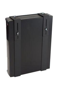 HIDEit Uni MW Vertical Adjustable Cable Box Wall Mount, Xbox Wall Mount,  DVR Mount, Satellite Receiver Bracket, Component Shelf HIDEit Mounts Http:u2026