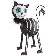Glitter Skeleton Cat