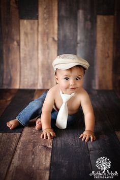 Allen Ivory Photography Prop Neck Tie 3-24 Months - Baby Boy Props, Toddler Props, Photography Props, Adjustable Tie, Cake Smash on Etsy, $19.25