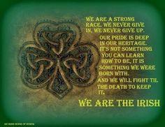 strong irish women quotes | Irish Strong | Irish and Proud | Pinterest