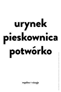 Plakat Hanny Sitarz - wymiary: 66,6 x 100 cm - cena: 15 zł / A poster by Hanna Sitarz - size: 66,6 x 100 cm - price: 15 zł