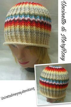 Ethnic unisex hat crocheted #cappello #unisex #etnico #uncinetto #crocheted #crochet #handmade #fattoamano #diy #hat #ethnic #donna #woman