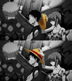 Luffy and Nami- One Piece