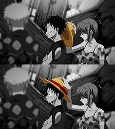 Luffy&Nami #OnePiece