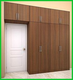 10 Latest Bedroom Wardrobe Designs With Pictures In India - - Are you renovating your bedroom? Here just check out these 10 best bedroom wardrobe designs that has grabbed the hearts of people. Wall Wardrobe Design, Wardrobe Interior Design, Wardrobe Door Designs, Wardrobe Room, Wardrobe Furniture, Bedroom Closet Design, Home Room Design, Small Room Design, Bedroom Furniture Design