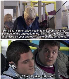 """When Smithy was all of us crossing the border. 