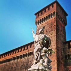 Castelo Sforza / Milão #Padgram