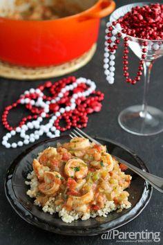 Shrimp Etouffee for Mardi Gras
