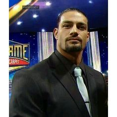 roman reigns ❤ liked on Polyvore featuring wwe