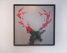 MYDEER REDGREY STEEL Art Series, Evolution, Steel, Frame, Home Decor, Homemade Home Decor, A Frame, Frames, Hoop