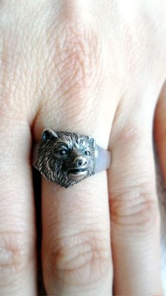@Maggie Moore Johnson This is the bear ring I needed!
