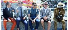 Menswear fashion week by Tommy Ton - awesome looks! Men's Fashion, Trendy Mens Fashion, Fashion Moda, Stylish Men, Tommy Ton, Gentleman Mode, Gentleman Style, Nick Wooster, Textiles
