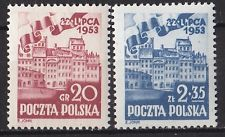 POLAND 1953 **MNH SC#582/83 July 22 - Feast of the Polish People's Republic
