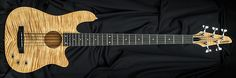 Carvin Guitars AC50, deep clear on flamed maple (FDC), matching flamed maple headstock (FPH)