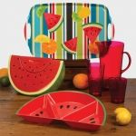 Fruit Fiesta Appetizer Tray it is summer take one of these beautiful salad bowl....Luciano.athome.com