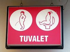 20 Creative and Funny Toilet Signs (bathroom sign, restroom sign) - ODDEE.