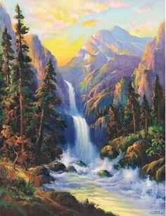 Image result for W.M. Thompson + calendar art