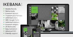 Ikebana - Masonry WordPress Portfolio Theme by satoridesign Ikebana is a premium WordPress portfolio theme created by Satori Studio. Our aim was to develop a minimal, clean, and aesthetical