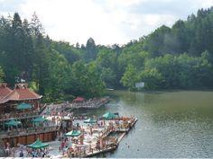 Medve tó Szováta - Erdély, Székelyföld