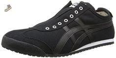 Onitsuka Tiger Mexico 66 Slip-On Classic Running Shoe, Black/Black, 10 M US - Onitsuka tiger for women (*Amazon Partner-Link)