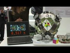 Watch This Robot Solve a Rubik's Cube in Less Than a Second | Motherboard