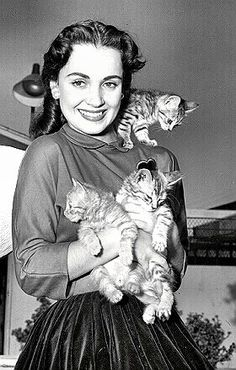 old timey clothing   yourcatwasdelicious: susan cabot   Old-Timey Cats