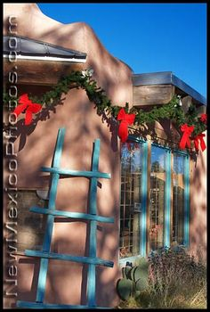 A shop in Old Town Albuquerque, gearing up for Christmas.