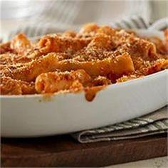 Baked Ziti with Cheese - Allrecipes.com