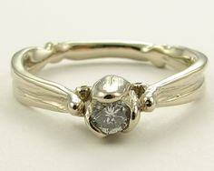 Tulip Ring Gold by wexfordjewelers on Etsy, $1178.00