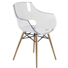 Retro eames inspired dsw 39 eiffel 39 lounge dining chair transparent - Chaise dsw transparente ...