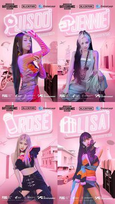 Kpop Girl Groups, Korean Girl Groups, Kpop Girls, Black Pink Songs, Black Pink Kpop, Hyuna Photoshoot, Mode Rose, Blackpink Poster, Blackpink Funny