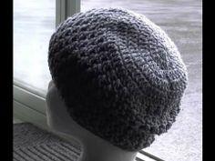 Cross Stitch Hat Crochet Tutorial