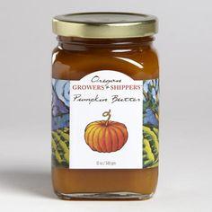 Oregon Pumpkin Butter